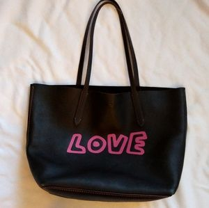 Coach x Keith Haring Love large tote bag